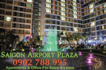 PKD Sài Gòn Airport Plaza cần bán CH 3PN diện tích 125m2, tặng nội thất - Hotline PKD 0902 788 995