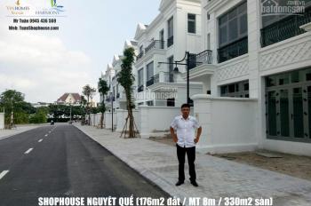 Cho thuê Shophouse tầng 1 đã hoàn thiện - Vinhomes Riverside Long Biên, 28 triệu/tháng