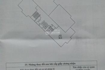Chính chủ cần bán gấp chung cư CT2A - Khu đô thị Mễ Trì Hạ