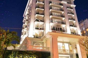 Bán khách sạn MT Trương Định góc Lê Thánh Tôn, Q1 DT 9x20m, hầm 9 lầu, HĐ thuê 500tr/th, giá 120 tỷ