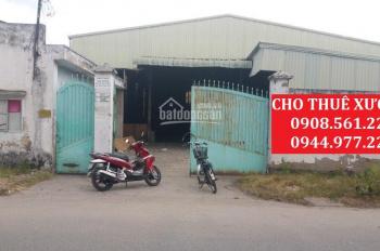 Cho thuê nhà xưởng ngay nga ba Đông Quang, quận 12 DT: 1000m2, giá 35tr/tháng. LH: 0937.388.709