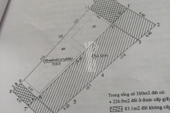 Bán đất diện tích 310m2 mặt tiền 6.5m mặt hồ tây, mặt phố Xuân Diệu, Tây Hồ, Hà Nội: 0981222026