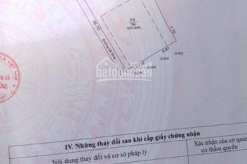 Cần bán một thửa đất 36 x 20m (thổ 540m2) phường Phú Thọ, TP Thủ Dầu Một, Bình Dương