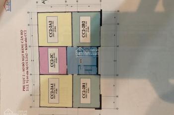 Bán căn hộ chung cư khu NO9 New Space Giang Biên. Giá 20tr/m2 (có thương lượng) Liên hệ 0984523538
