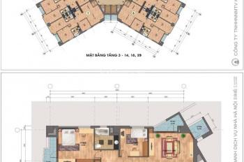 Bán căn hộ chung cư OCT3A tại khu đô thị Resco Cổ Nhuế. LH 0939646666