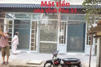 Nhà mới xây cho thuê, Vĩnh Phú 33, Bình Dương, Loan 0938748270