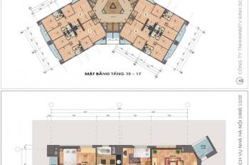 Bán chung cư OTC3A khu đô thị Cổ Nhuế - Resco, diện tích 142.7 m2, giá gốc từ 15.8tr/m2