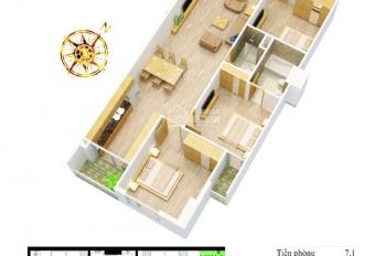 Hot! Chính chủ bán CC số 62 Nguyễn Huy Tưởng, Thanh Xuân, HN, tầng 12, S=100m2. Giá 25tr/m2