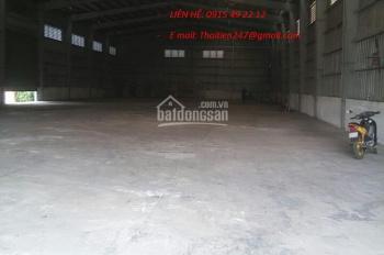 Cho thuê kho, xưởng KCN Sóng Thần 100, 300, 400, 500- 1000m2-2000m2-2500m2, 5000m2-10000m bảo vệ