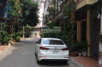 Bán nhà ngõ 1 Phạm Tuấn Tài, DT 69.4m2 x 3 tầng, MT 5,8m, đường 8m vỉa hè 2 bên. Giá 10,9 tỷ