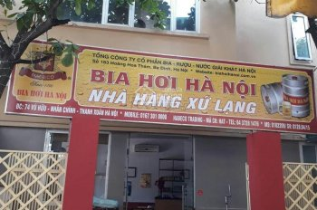 Cho thuê cửa hàng, VP nhà mặt phố Vũ Hữu, 55m2, MT 18m rộng hiếm nhất khu