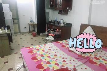 Cho thuê chung cư mini 8 tầng ở ngõ 157 Chùa Láng (thang máy)