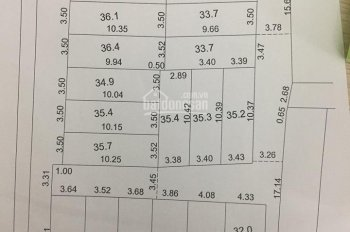CƠ hội, chính chủ bán đất phân lô giá chỉ từ 1.3 tỷ, Vị trí trung tâm nhất Trâu Quỳ, LH: 0971624299