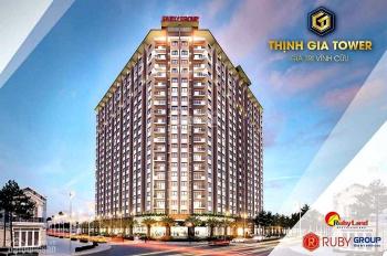 Nhận đặt chỗ đợt 1, căn hộ cao cấp Thịnh Gia Tower