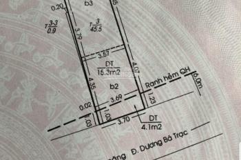Nhà bán 1 trệt, 1 lửng, 2 lầu, Dương Bá Trạc, hẻm 28, 3,7m x 13m, giá 5 tỷ 4, thương lượng