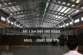Chính chủ cho thuê kho xưởng 3000m2 tại Cẩm Giàng - Hải Dương hotline: 091 190 8888