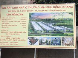 Phú Hồng Đạt - Phú Hồng Khang, giá F0, cách vòng xoay An Phú 1.5 km, LH 0898782668