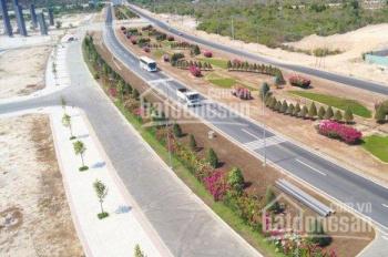 Bán đất nền Bãi Dài Cam Ranh đường Nguyễn Tất Thành, MT đường 20m, gần góc đường, 24m, giá 20tr/m2