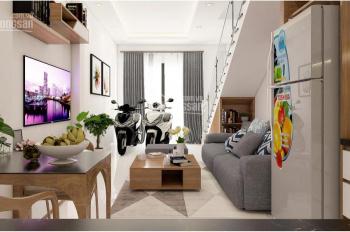 Bán nhà giá rẻ DTSD 65m2, giá 1 tỷ 2, thiết kế 1 trệt 2 lầu, đường Hà Huy Giáp, Quận 12