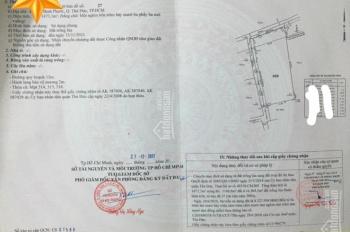 Đất sổ hồng riêng gần cầu Bình Triệu 3km, DT 56x26m=1456m2, thổ cư 1200m2, giá rẻ