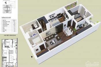Chính chủ nhượng căn hộ 2PN dt 76m2 dự án HPC Landmark 105 - Hải Phát 0914664189