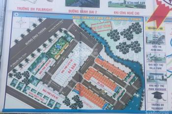 Bán lô đất (61,5m2) dự án Diamond Town, đường Bưng Ông Thoàn quận 9, lô C, xây dựng tự do