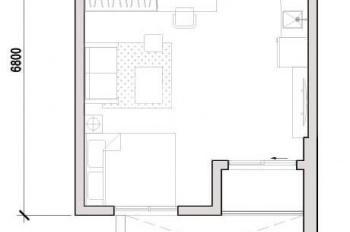 Cần bán nhanh căn officetel trần cao làm làm thêm lửng được, giá bán 1.58 tỷ. LH: 077.390.1588