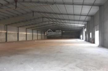 Cho thuê xưởng tại xã Song Khê, Tp Bắc Giang, dt: 1300m2