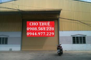 Nhà xưởng Hóc Môn cho thuê: 150m2, 300m2, 600m2, 800m2, 1000m2, 2000m2, 4000m2, LH: 0908.561.228