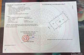Gia đình cần bán nhà đất đẹp phố Nguyễn Cao, Lò Đúc. LH 0936471286