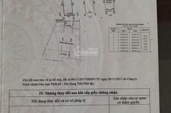 Bán nhà mặt tiền Trần Hưng Đạo, Tân Phú, DT 106m2 nở hậu L, nhà 3 lầu, LH 0902442423 A Thiên
