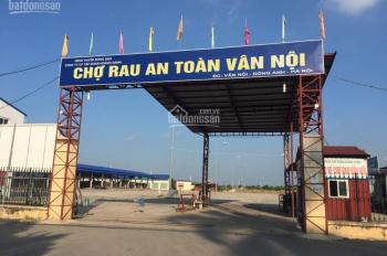 Lô góc, đẹp, rẻ xã Vân Nội, ô tô, DT: 46m2, MT: 4.5m, giá: 1.4 tỷ