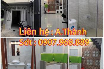 Nhà bán 3m4 x 6m5 x 9m, 1 lầu, Văn Thân, P8, Q6