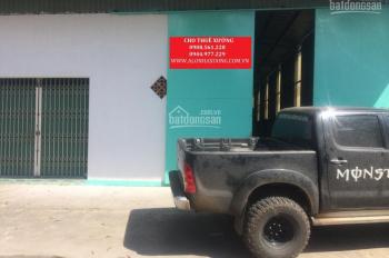 Cho thuê nhà xưởng DT: 600m2 giá 25 tr/tháng, đường Nguyễn Văn Bứa, Hóc Môn. LH: 0908.561.228