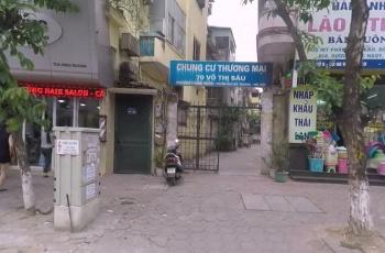 Bán gấp căn hộ chung cư thương mại số 70, Võ Thị Sáu, quận Hai Bà Trưng, Hà Nội
