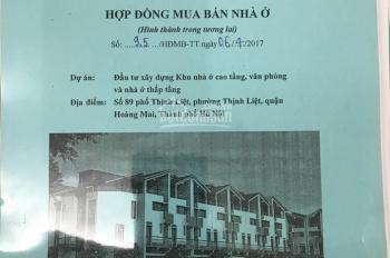 Biệt thự liền kề giá rẻ nhất Q Hoàng Mai, dự án 89 Thịnh Liệt, 5.5 tỷ căn góc đường quy hoạch