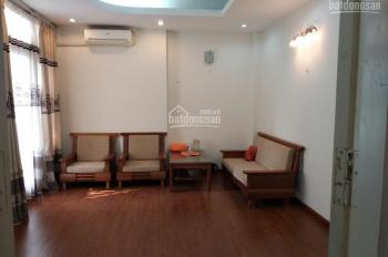Cho thuê nhà riêng phố Nghĩa Tân 60m2 x 5T, sân sau 15m, đầy đủ đồ cơ bản. Giá 22tr/th, phù hợp VP