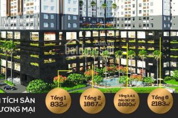 Căn hộ Q. 8, chỉ 15 căn nội bộ giá 25tr/m2 thấp hơn CĐT 100tr/căn, góp 5tr - 7tr/th, tiện ích 5*