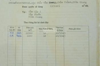 Chính chủ cần bán 12960m2 đất, gần khu công nghiệp Long Giang
