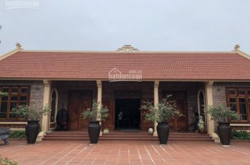 Cần nhượng 8000m2 trang trại nghỉ dưỡng nhà vườn hoàn thiện vip tại Ba Vì, Hà Nội, giá 20 tỷ