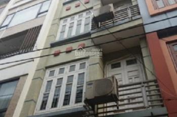 Cho thuê nhà phân lô ngõ 1 phố Phạm Tuấn Tài. Diện tích 50m2 x 5 tầng, ngõ rộng 8m, giá 18 triệu/th