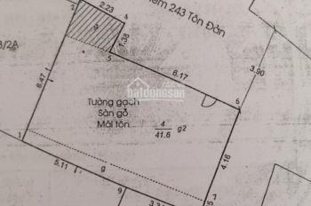 Bán nhà góc 2 mặt tiền hẻm xe hơi Tôn Đản 243/2, P15, Q4, cách mặt tiền đường chính 20m