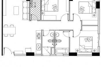Duy nhất căn hộ 3PN, 85m2, giá 1.939tỷ. LH: 0973 848 214