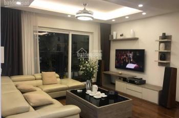 Cho thuê căn góc tòa A chung cư Golden Palace Mễ Trì, căn hộ 3PN, đủ nội thất. LH: A.Nhụ 0936372261