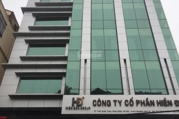 Cho thuê MBKD Quận Hoàn Kiếm, phố Trần Quốc Toản, DT 200m2. LH: 0866.613.628