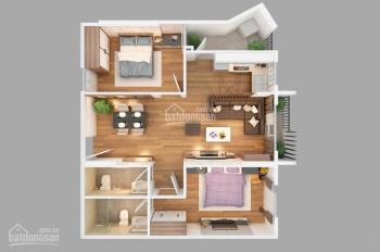 Cần bán căn hộ chung cư 70m2 sổ hồng chính chủ, hướng Đông Nam tầng 6 số 1 Mai Chí Thọ. Giá 1,55 tỷ