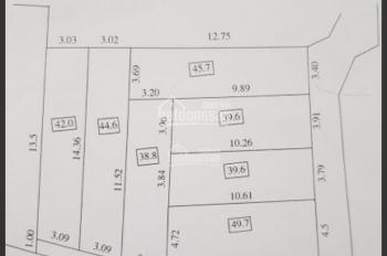 Bán 45.7m2 đất, giá 1.67 tỷ, Cổ Điển A, Tứ Hiệp, Thanh Trì, Hà Nội