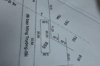Chính chủ cần bán nhanh đất tại xã Tân Lập 1, Tân Phước, Tiền Giang. LH Ms Phượng 0903820424