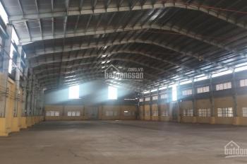 Cần cho thuê 02 kho xưởng 1100m2 và 1300m2, container ra vô, PCCC, đường Hương lộ 2