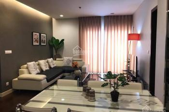 Cho thuê chung cư Lancater Hà Nội, 126m2, 3PN, đủ đồ cực đẹp, nội thất tone đen trắng, view hồ